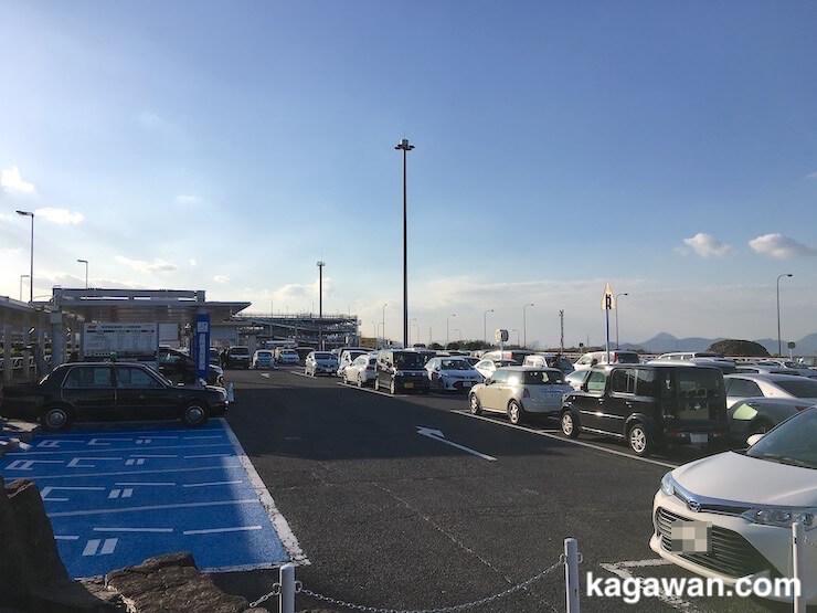 高松空港周辺にある3つの駐車場情報